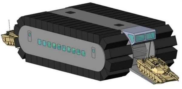 Ultra Heavy-lift Amphibious Connector