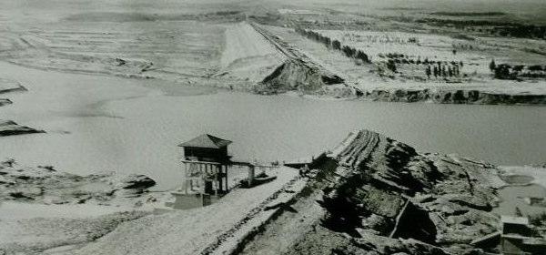 板橋ダム決壊
