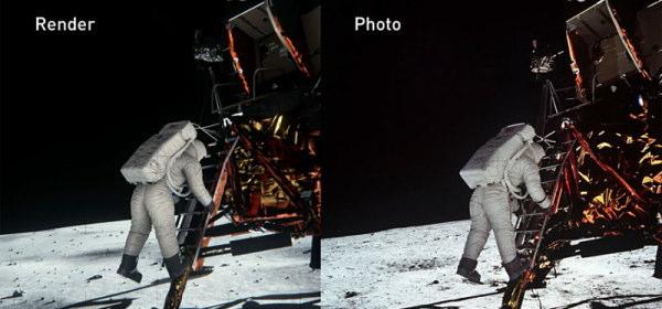 NVIDIAの月面着陸証明