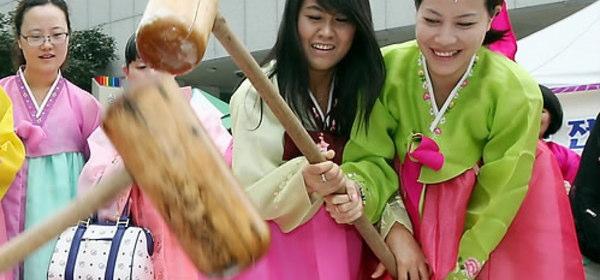 韓国版餅つき