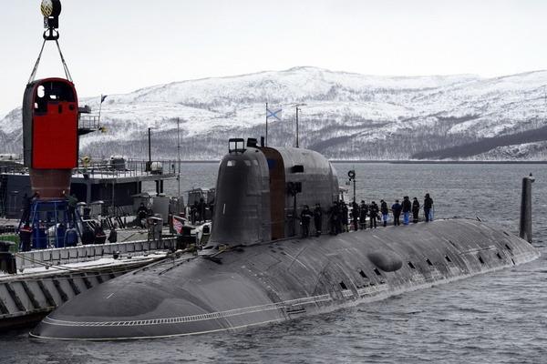 ヤーセン型原子力潜水艦の脱出ポッド_7