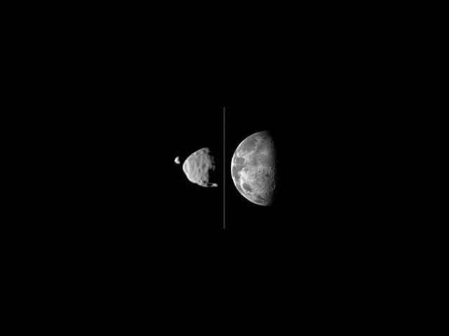 フォボス、ダイモス、月