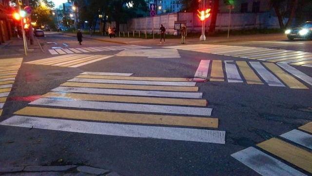 ロシアの横断歩道_4