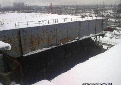 チェルノブイリ 屋根 崩落