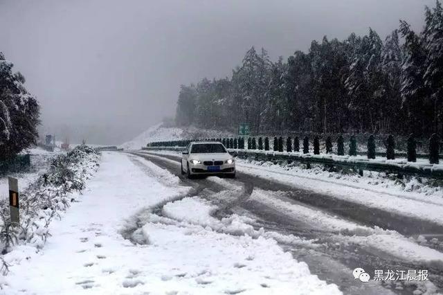 黒竜江省の初雪_6