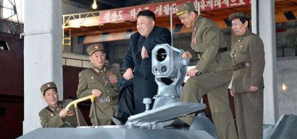 北朝鮮ステルス艦