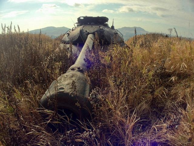 色丹島の戦車_8
