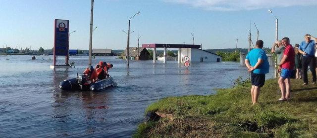 ロシア シベリア 洪水_1