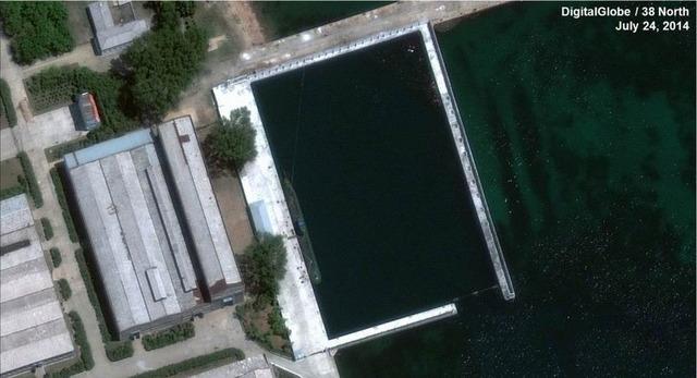 北朝鮮の弾道ミサイル潜水艦_2
