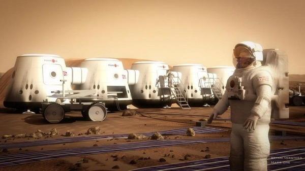 マーズワンの火星入植