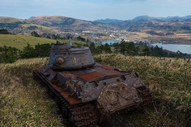 色丹島の戦車_5