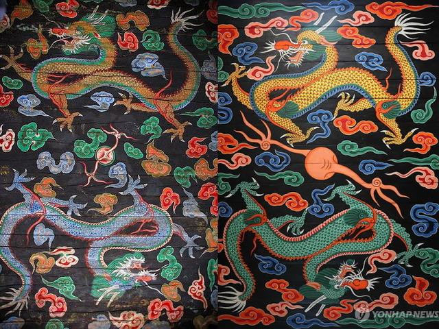 崇礼門の天井画