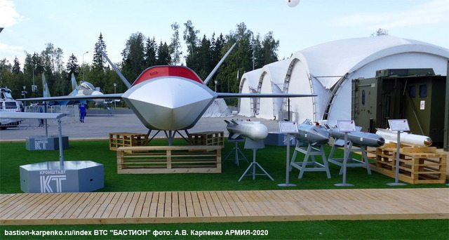 ロシア無人戦闘攻撃機『サンダー』_2
