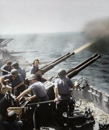 ボフォース40mm4連装砲