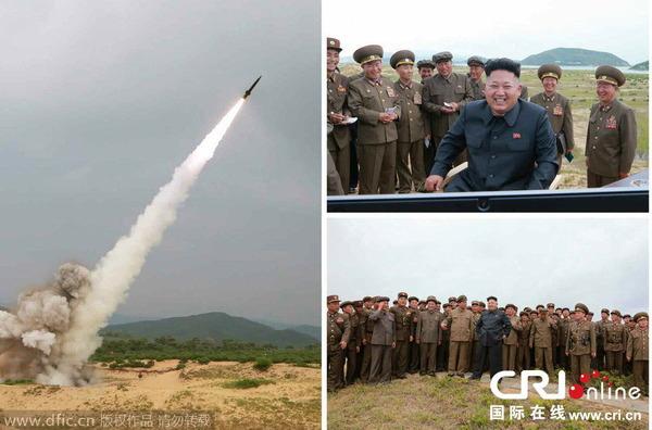 北朝鮮の短距離ロケット_1