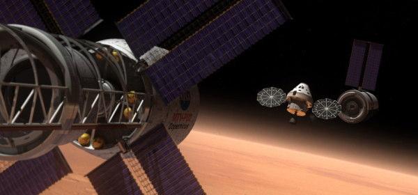 火星有人飛行