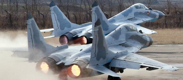 金正恩_空軍_視察_MiG-29_1
