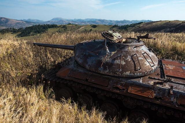 色丹島の戦車_1