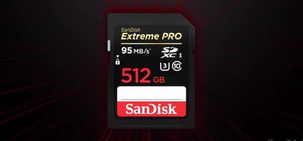 512GBSDカード