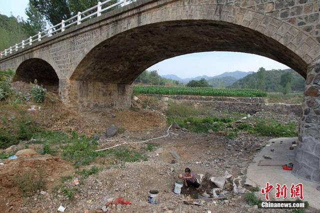 中国水不足