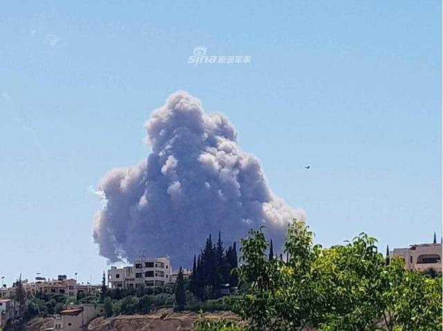 シリア空軍基地爆発_2
