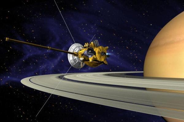 土星探査機 カッシーニ