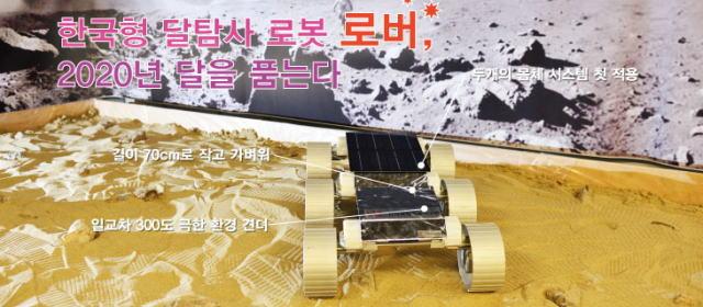 韓国の月面探査車