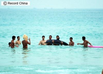 中国 イルカ