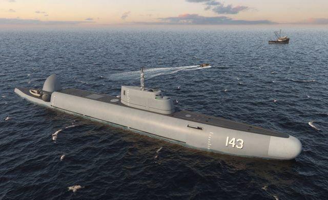 潜水巡視船