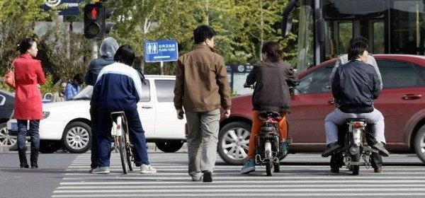 中国式横断