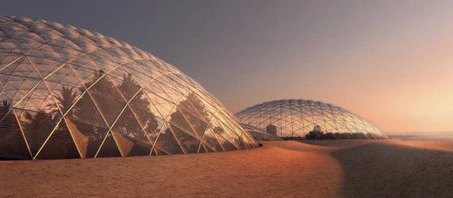 UAE 火星コロニー_1