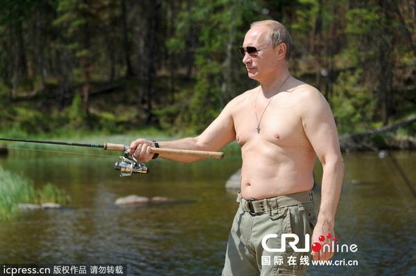 プーチン大統領の釣り_2013_2