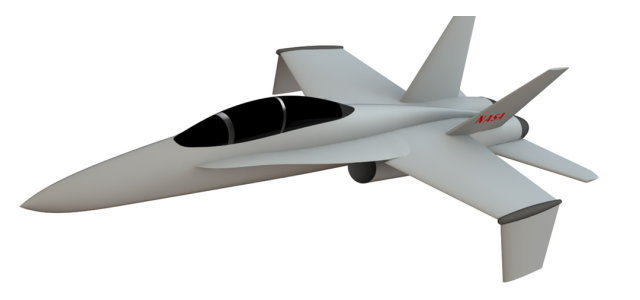 スパンワイズ適応翼 F-18_2