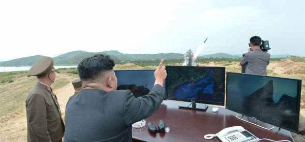北朝鮮の短距離ロケット
