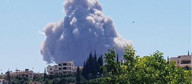 シリア空軍基地爆発_8