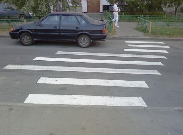 ロシアの横断歩道_1