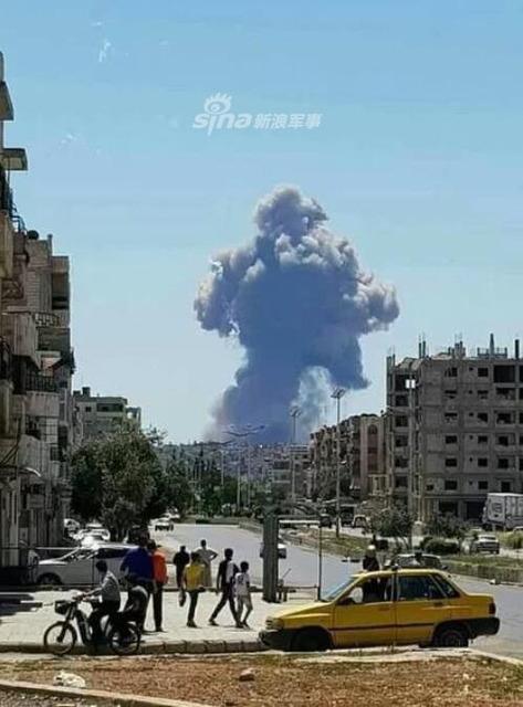 シリア空軍基地爆発_4