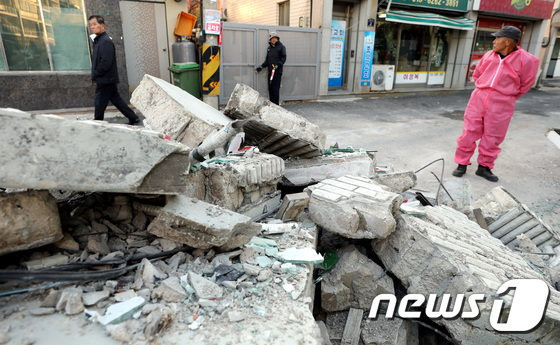 2017年11月 韓国地震_4