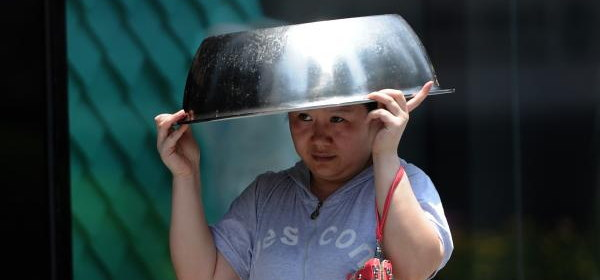 中国の猛暑