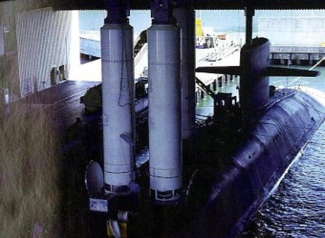 オハイオ級原子力潜水艦_トライデントII_1