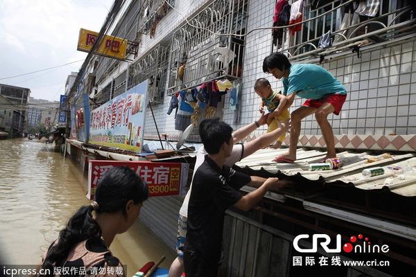 中国で発生した台風11号の被害_5