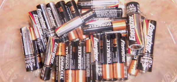 アルカリ電池の見分け方