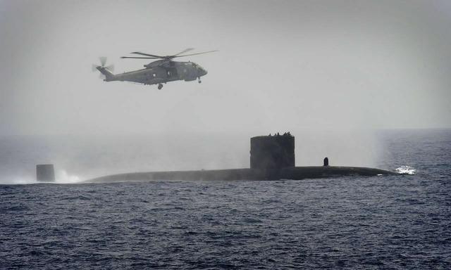 トラファルガー級原子力潜水艦