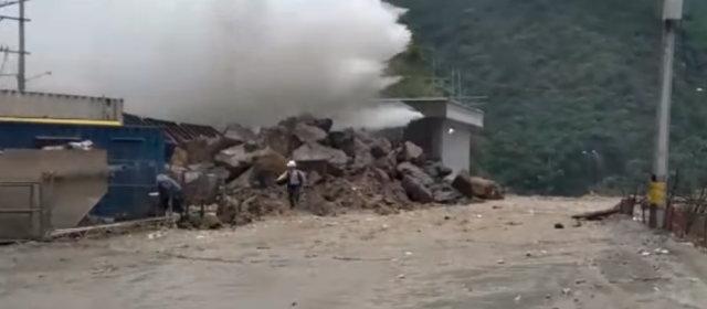 コロンビア 水力発電所事故