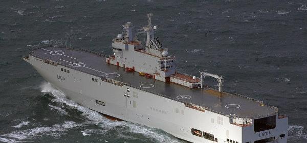 Mistral-class amphibious assault ship