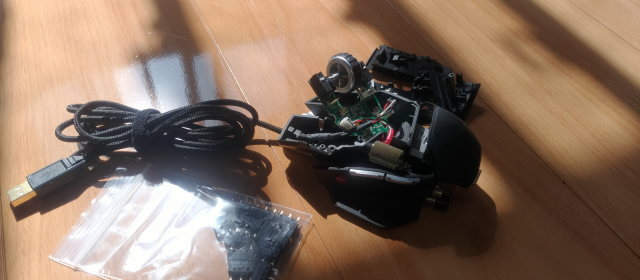 チャタリング マウス 修理_1