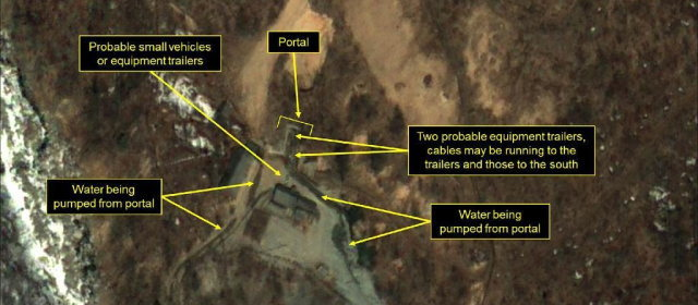 豊渓里核実験場
