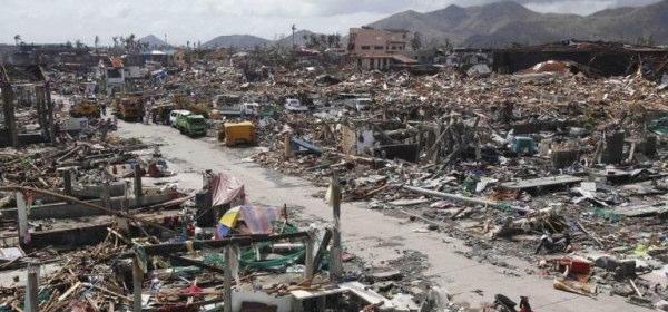 フィリピン台風被害