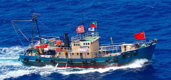 尖閣諸島不法上陸船
