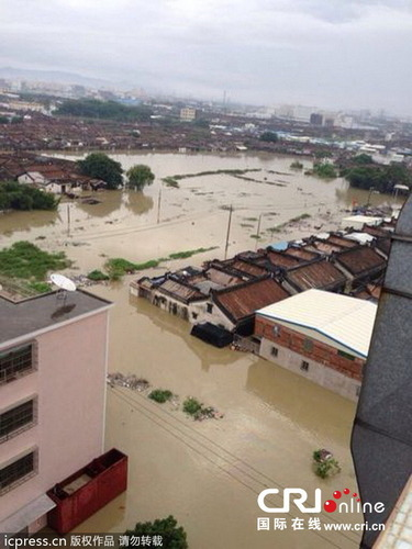 中国で発生した台風11号の被害_10